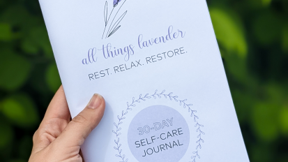 All Things Lavender Self-CareJournals