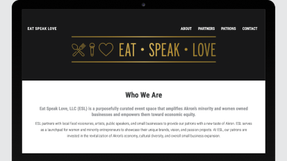Eat Speak Love Website